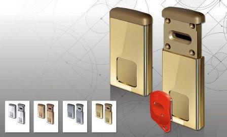 установка магнитной накладки disek под сувальдный ключ